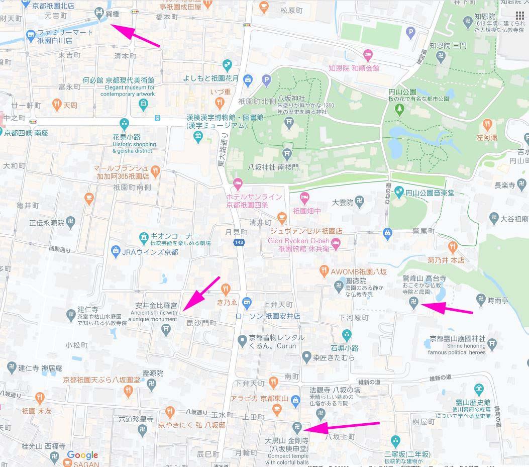 東山 地図